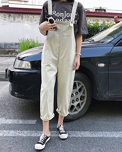 Abricot Casual Romper Jumpsuit Sarouel Ample Combinaison Mengmiao Femme Pantalon Large Harem XIqwTxvAx