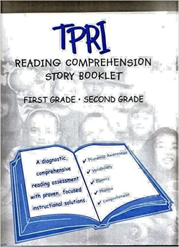 TPRI Reading Comprehension Story Booklet (First Grade