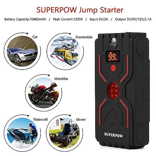 1200A Peak Car Jump Starter
