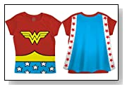 Wonder Woman Toddler Cape T-Shirt