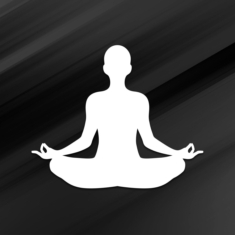 Amazon.com: Vincit Veritas Yoga Pose nameste vinilo blanco ...