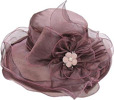 hositor Kentucky Derby Hats for Women Womens Church Derby Dress Fascinator Bridal Cap British Tea Party Wedding Hat