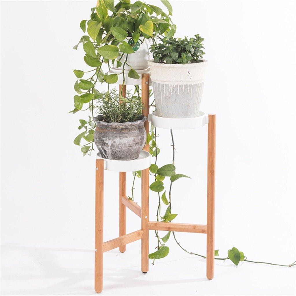 Cornice floreale   Stand per piante all'aperto   3 Tiers Flower Stand - Stand per piante in metallo - Interno   Esterno   Giardino   Balcone   Salotto Scaletta per piante da fiori Scaffale per ripiani