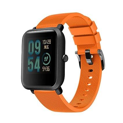 Diadia For Huami Amazfit Bip - Reloj deportivo de pulsera de silicona suave para huami Amazfit