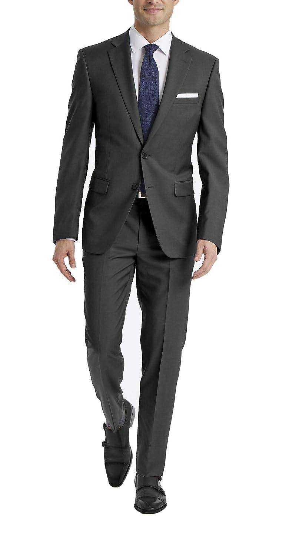 fd7d5e89 Calvin Klein Men's X-Fit Two-Piece Suit
