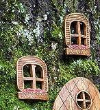 Set of 2 Elf Windows Tree Decorations