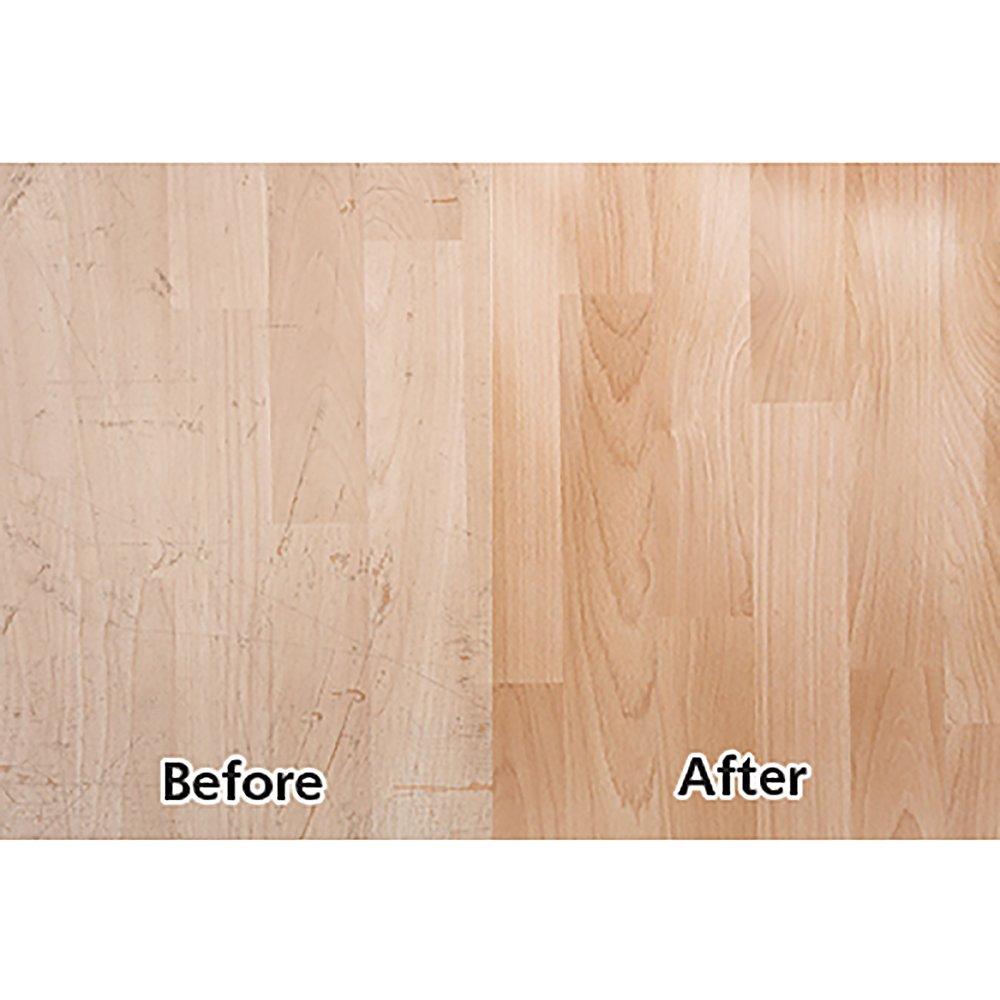 Rejuvenate Professional Wood Floor Restorer Satin Non Toxic Easy Mop On Application 1 Gallon (2 Pack)