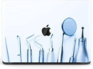 Mertak Hard Case for Apple MacBook Pro 16 Air 13 inch Mac 15 Retina 12 11 2020 2019 2018 2017 Laptop Clear Print Cover Doctor Dentist Plastic Medicine Dental Supplies Minimal Protective Design