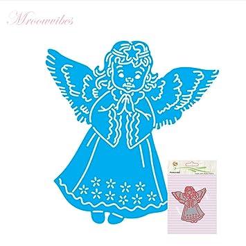 amazon com arich angel pendant cutting dies stencil template diy