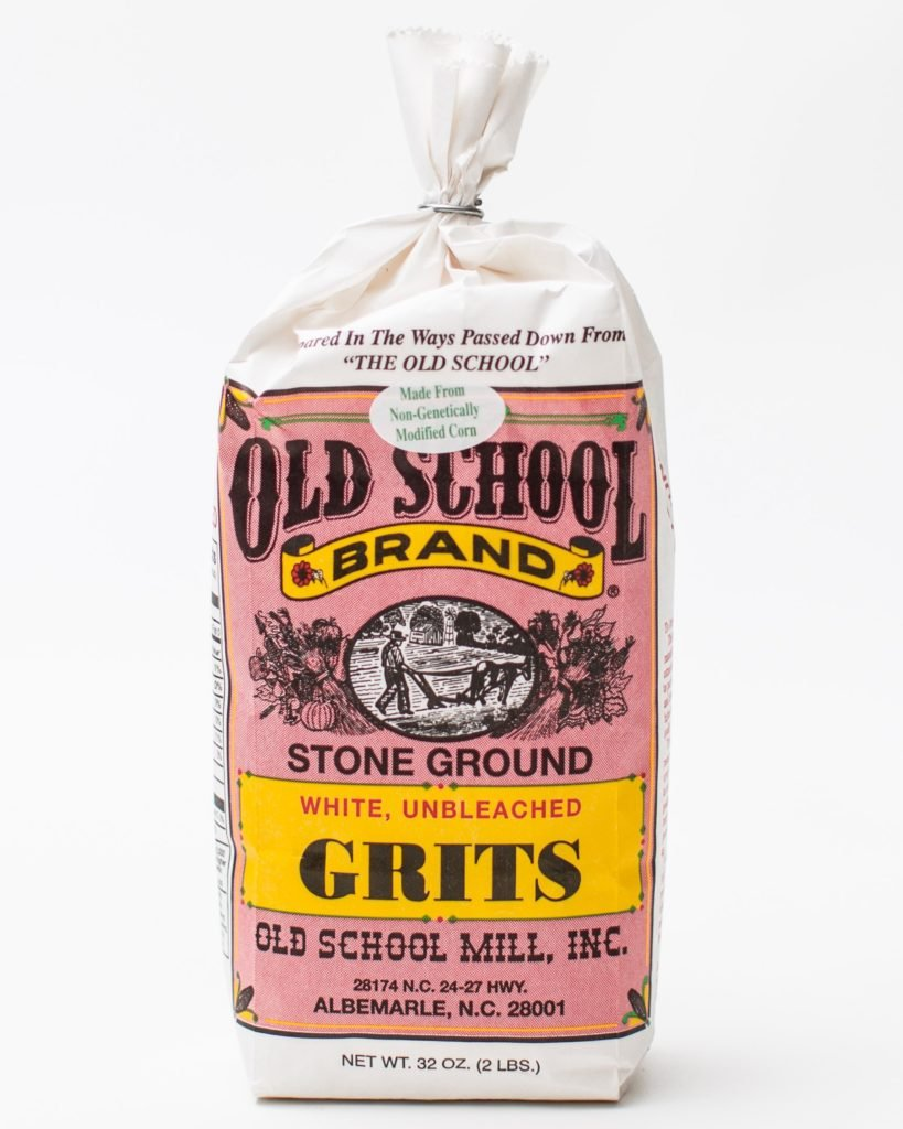 Old School Stone Ground White Corn Grits Non-GMO  32 ounces
