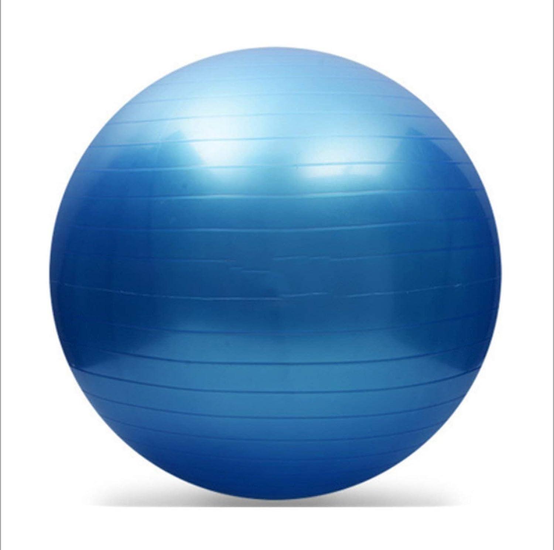 Beige One Size 85cm 95cm Exercise Ball Sports Yoga Ball Bola Fitness Gym Balance Ball Exercise Workout Massage Ball