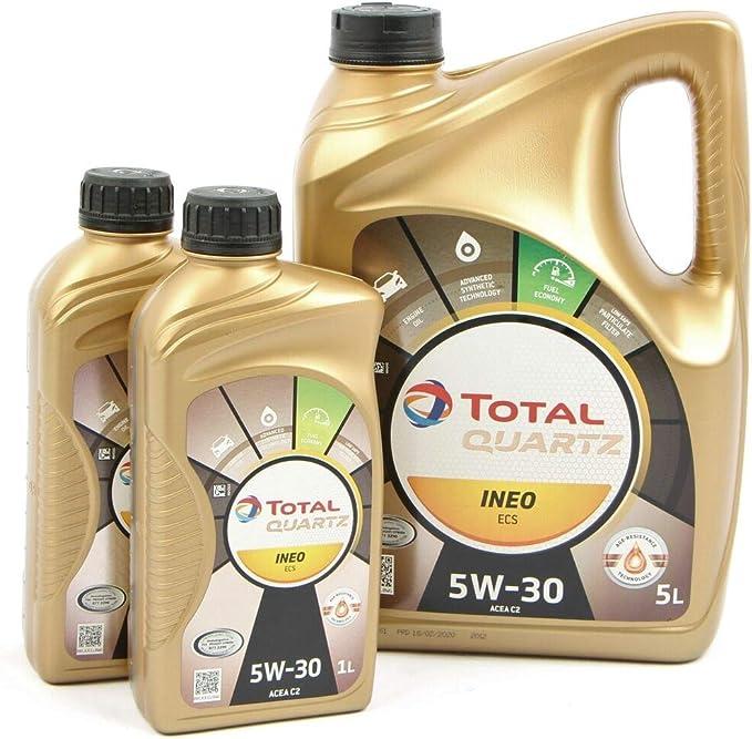 Total Quartz Ineo Ecs 5 W30 5l 2 X 1l 7 Liter Auto