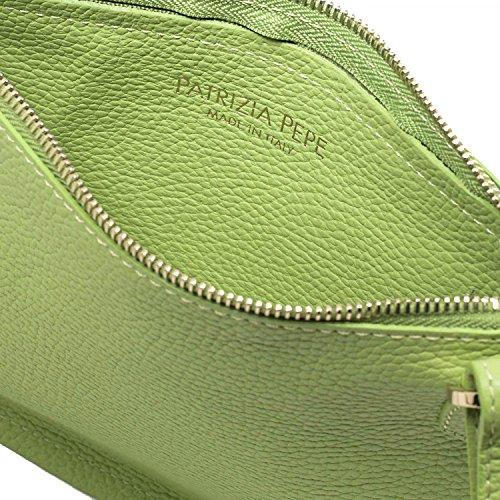 Borsa a spalla PATRIZIA PEPE Donna 2V6738 A1W&I2F7 Verde - TAGLIA UNICA