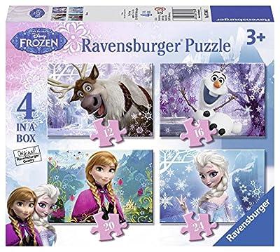 Box Of 4 Disney Frozen Puzzles