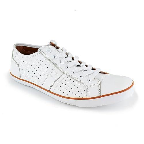 Deportivo Peter Blade Cuero Blanco Padel: Amazon.es: Zapatos y complementos