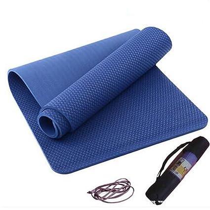 Amazon.com : Yoga mat Picnic mat- 3rd Generation TPE ...