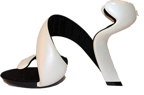 san francisco cc2fc 5fe5d Julian Hakes Women's London White Pearl/Black Mojito Shoes ...