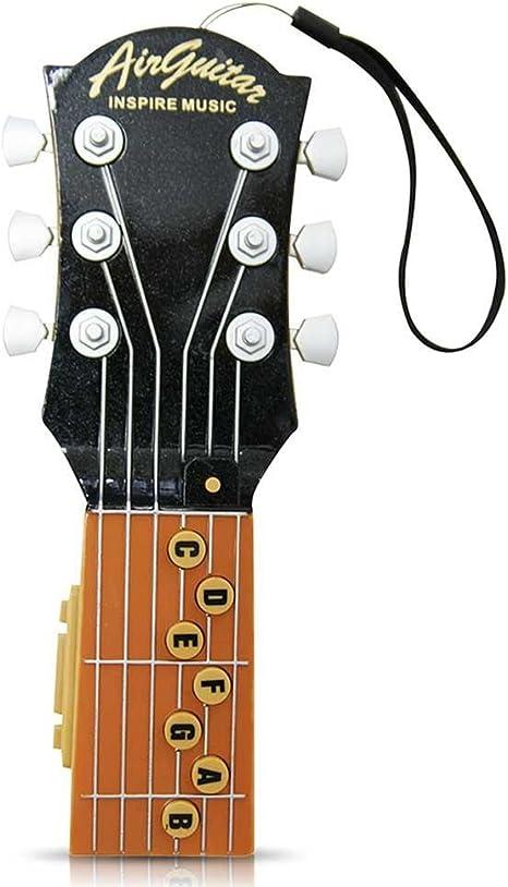 Air Guitar plástico guitarra con dormirte Música Guitarra Mango ...