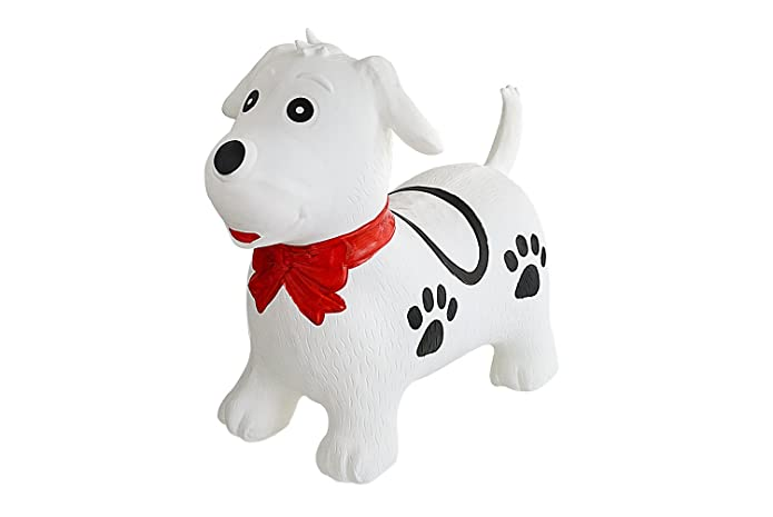 Dog Hedstrom 18-Inch Plush Hopper Ball with Pump