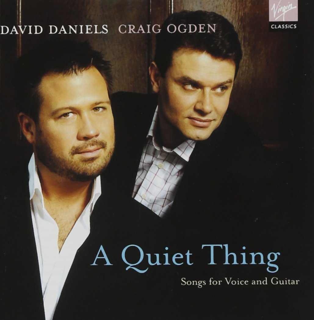 A Quiet Thing; Songs for Voice and Guitar - David Daniels & Craig Ogden by EMI Classics (Image #1)