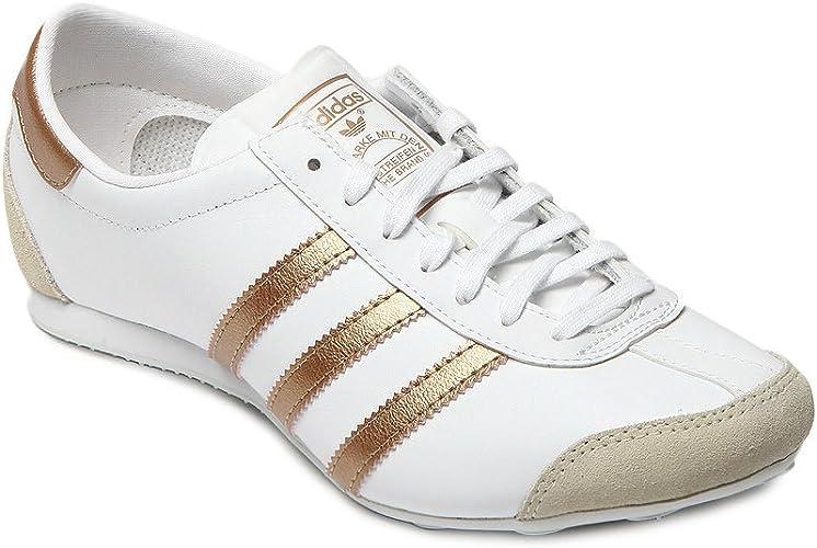 adidas Blanc Aditrack W Souliers Simples de Femme:
