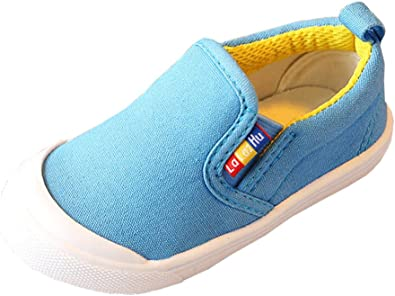 iDuoDuo Toddler Little Girls Boys Cute Cartoon Strap Walking Sneakers Dress Shoes Toddler//Little Kid