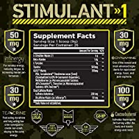 Amazon Com T6 Stimulant 1 Pre Workout Powder World S Strongest