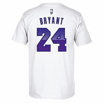 adidas Kobe Bryant Los Angeles Lakers NBA Blanco Jugador ...