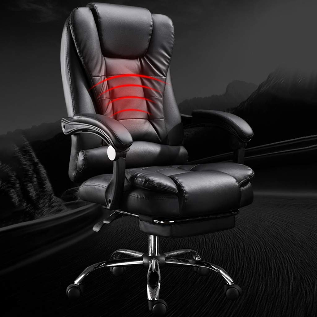 WONdere High-End Computer Chair Office Chair Reclining Home Massage Chair Lift Massage Chair Desk seat (D) by WONdere (Image #3)