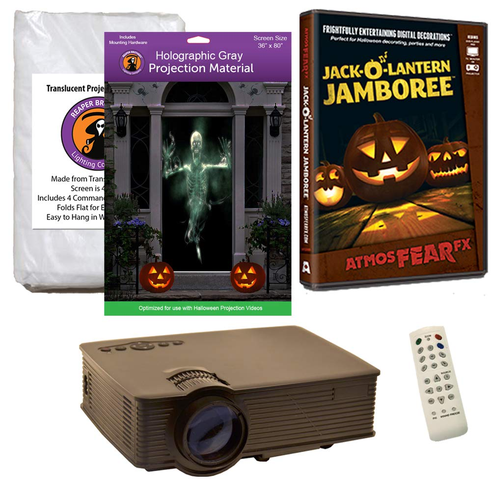 Kit de proyección de Ventana de Halloween Incluye proyector de ...