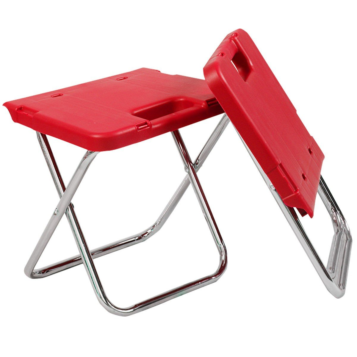 CHOOSEandBUY Multi Functional Rolling Picnic Cooler w/Table & 2 Chairs - RED by CHOOSEandBUY (Image #9)