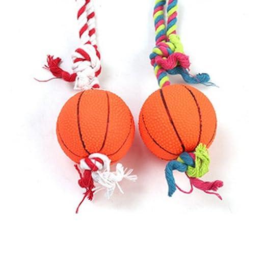 Trifycore Perro de Baloncesto en Forma de Cuerda de algodón ...
