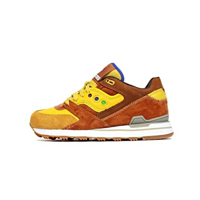 6da4f408859a Saucony x Feature Men Courageous - Belgian Waffle (Brown Yellow) Brown Size