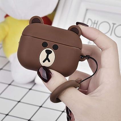Amazon Com Torotop Airpods Pro Case Cover Cute Bear Cartoon
