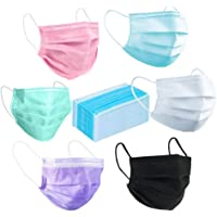 120 Pack Disposable Mask Flu Masks Face Disposable Masks For Filter Dust And Bacteria