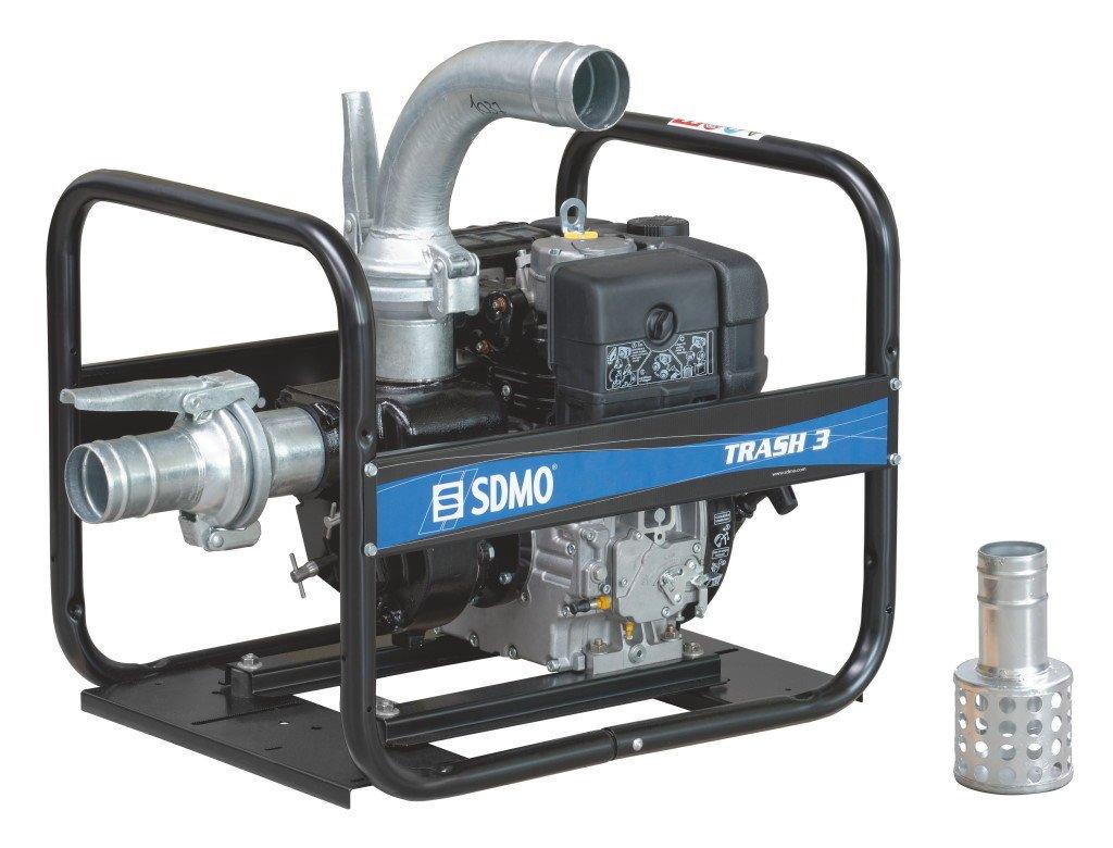 SDMO TR3-60H 4 Inch Heavy Duty Trash Diesel Water Pump