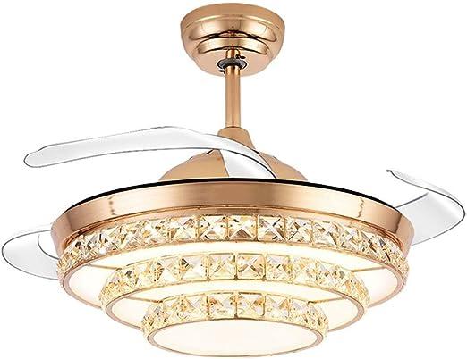 ZSLLO Lámpara de Techo, Ventilador Luz de Techo, 3 Modos de luz ...