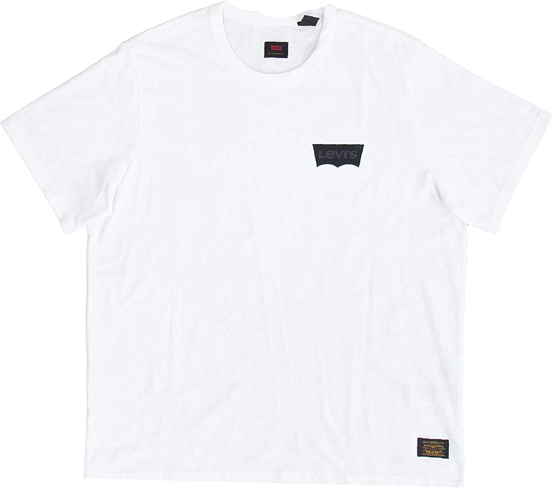 Levis Skate Graphic SS Lsc Core Batwing Camiseta Hombre Blanco