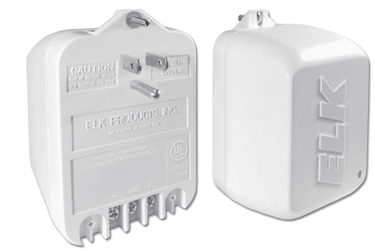 3 x Elk TRG2440 24VAC, 40 VA AC Transformer with PTC Fuse