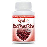 Kyolic Aged Garlic Extract Formula 114 Red Rice Yeast & Coq10, 75 Capsules