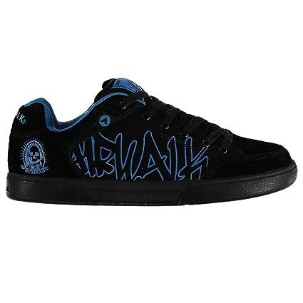 Airwalk Outlaw para hombre zapatos de Skate negro/zapatillas azules zapatillas calzado, negro y