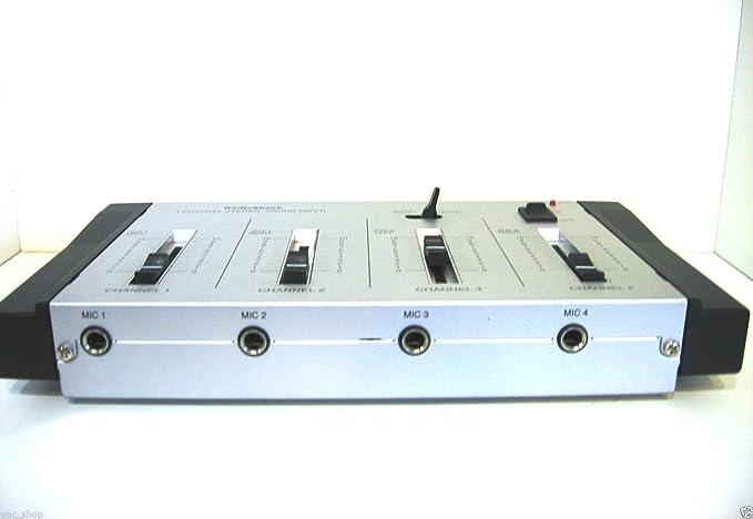 Radioshack – 4 canales estéreo mezclador de micrófono – (32 – 2056)