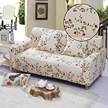 Elastic Anti Wrinkle Couch Covers , Sofa Slipcover For 1 Seater Chair Soft Lightweight Slip Resistant Sofa Furniture Protector Cover Fit Many Popular Sofas (Vine flowers)By lifeng80