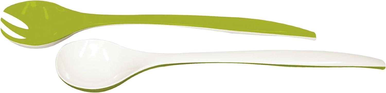 30 cm zakdesigns Salad server Duo 30cm in red//white