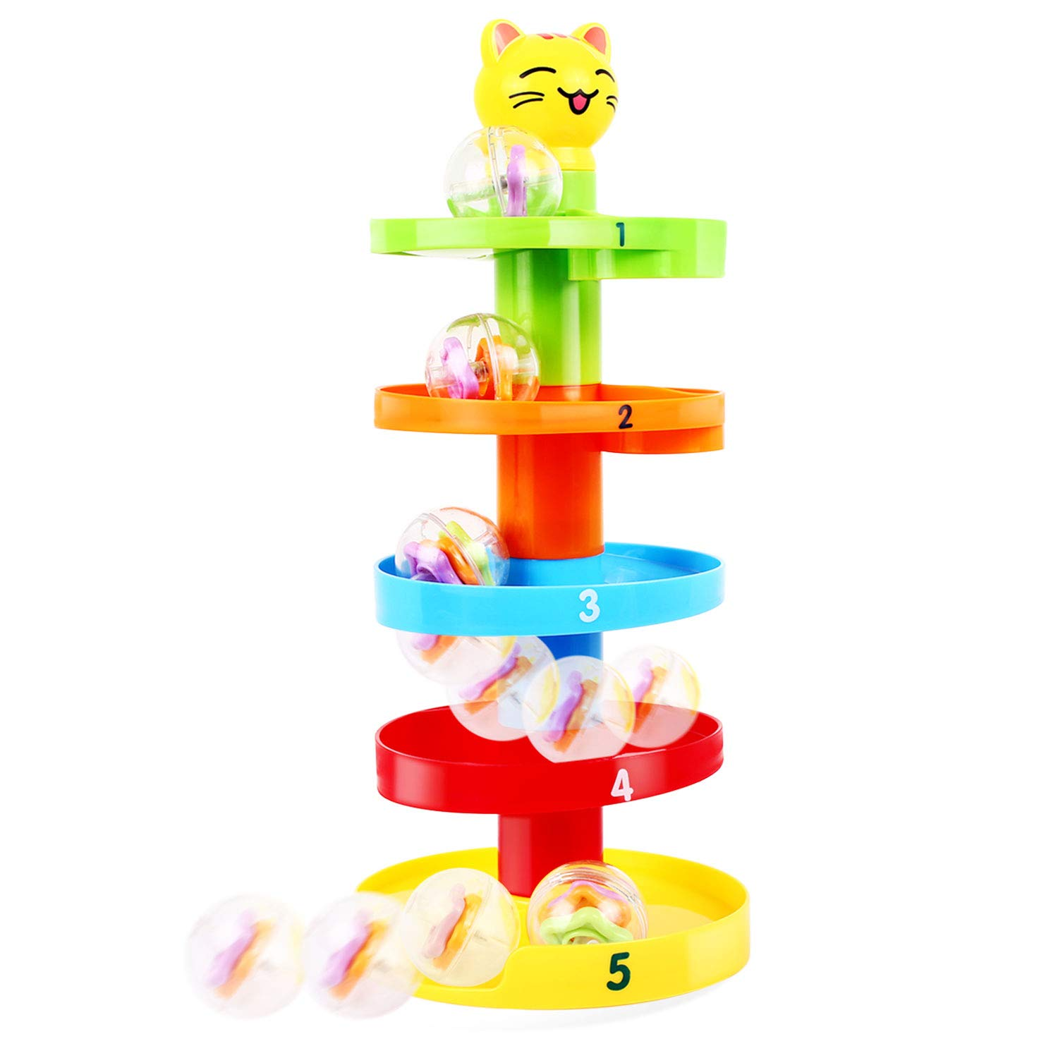 Welding & Soldering Supplies Baby Childern Toys Tower Puzzle Rolling Ball Bell Stackers Toys Kids Developmental Educationsl&learning Toy High Safety