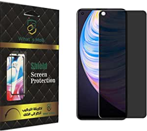 For Realme 8 Pro Privacy Nano Screen Protector Flexiable Anti Peep and Anti Fingerprint 0.45 MM By Whats MoB , 2725618215131