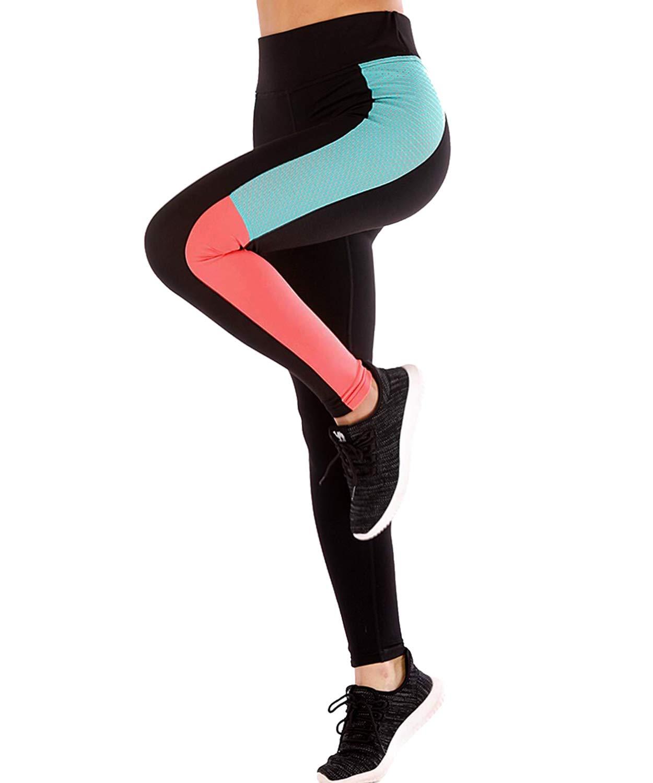 LaLaAreal Mallas Deportivo Mujer Leggins Yoga Pantalon Elastico Cintura  Altura para Running Pilates Fitness product image a7bde47268b0