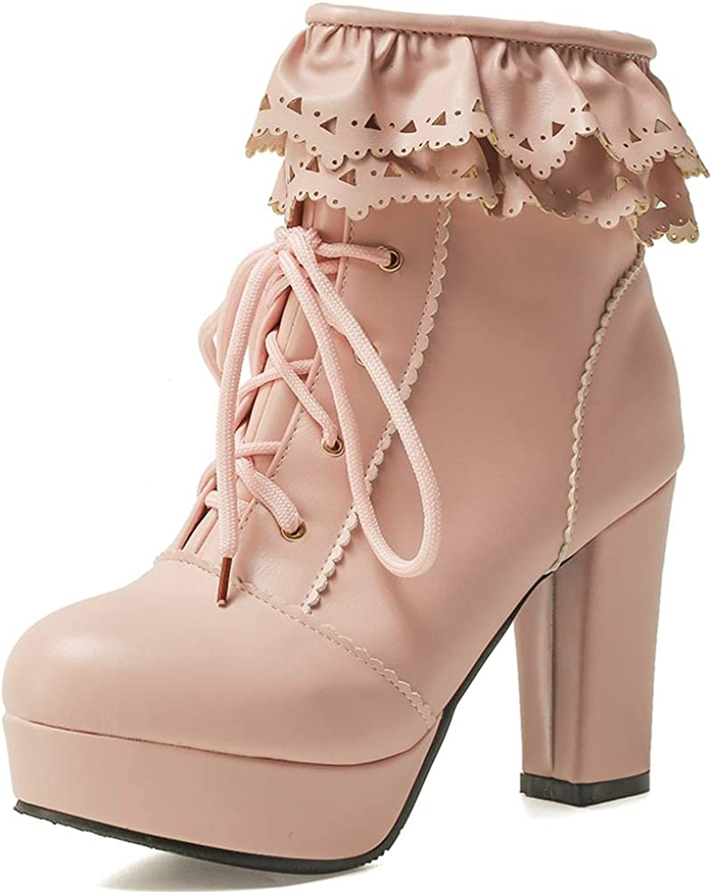 Party Sweet Lolita Platform Chunky