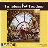 Sure-Lox 550 Piece Puzzle - Timeless Teddies - Remembering Yesterday by Sure-Lox