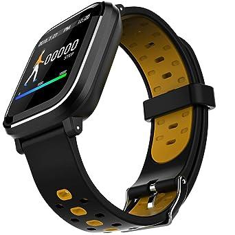 Lazzboy Relojes Inteligentes, Smartwatch para Hombres Y ...
